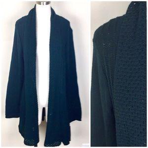 🆕Dark Teal Green Shawl Collar Sweater Cardigan